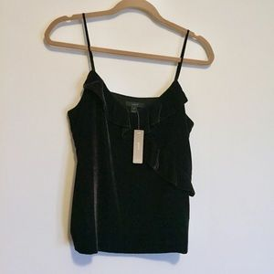 J.Crew Velvet Going Out Top - NWT